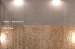 Giallo-Schier-Marron-venk-sandblasted